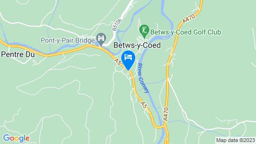 Gwydyr Hotel Map