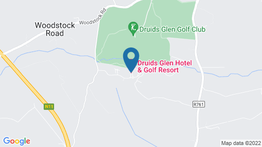 Druids Glen Hotel & Golf Resort Map
