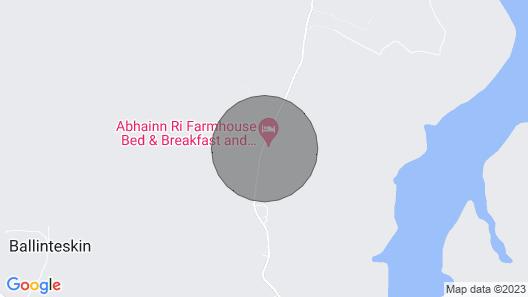 Abhainn Ri Farm Cottages With Stunning Lake & Mountain Views Map