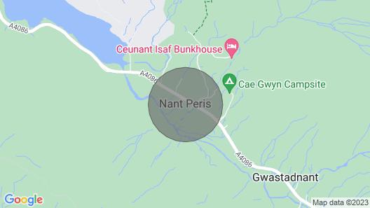 Bwthyn Y Nant Map