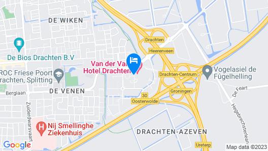 Van der Valk Hotel Drachten Map