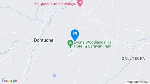 Lyons Woodlands Hall Hotel Map