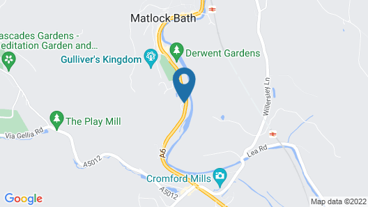 New Bath Hotel and Spa Map