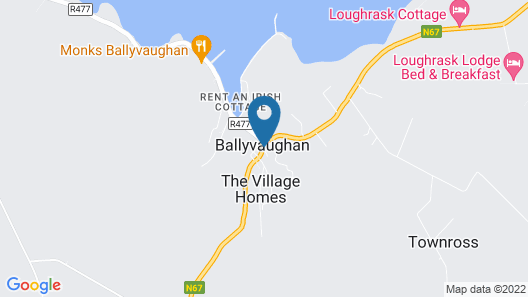 Hylands Burren Hotel Map