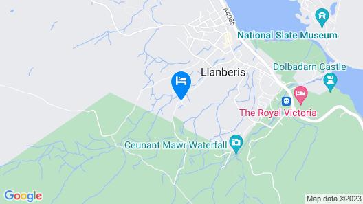 YHA Snowdon Llanberis - Hostel Map