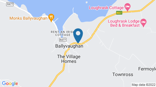 Ballyvaughan Lodge Map