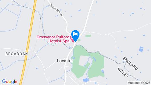 Grosvenor Pulford Hotel & Spa Map