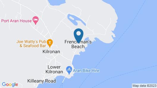Aran Islands Camping & Glamping Map