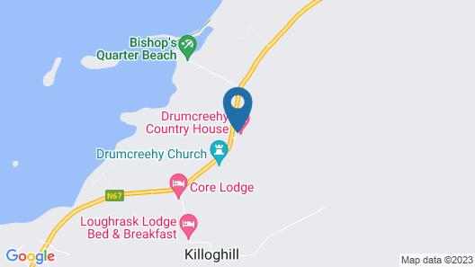 Drumcreehy Country House B&B Map
