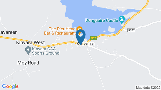Kinvara Guesthouse Map