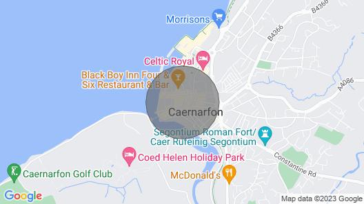 Ty Nain - Two Bedroom House, Sleeps 6 Map