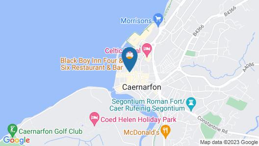 Black Boy Inn Map