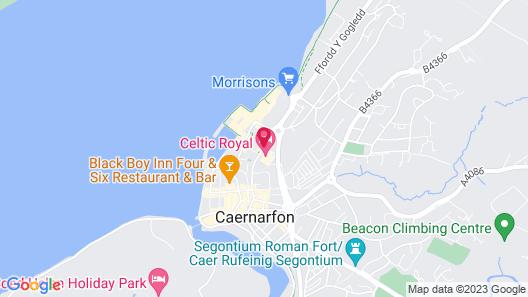 Celtic Royal Hotel Map