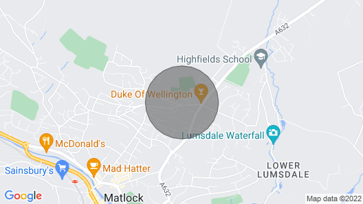Dukes View Map
