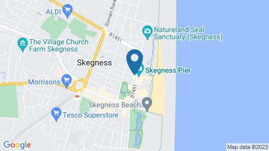 OYO Grosvenor House Hotel Map