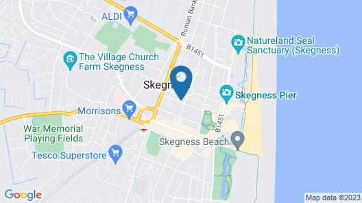 Lyndene Holiday Apartments Map