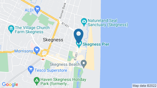 Pier View Hotel and Apartments Map