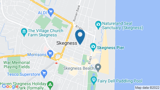 The Scarborough Hotel Skegness Map