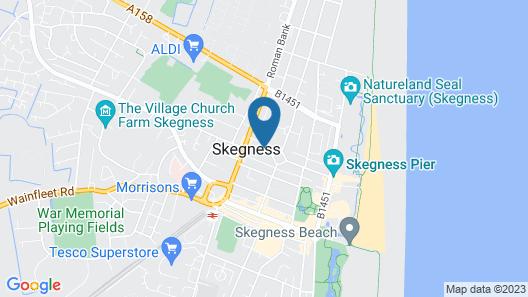 Lyndsay Guest House Map