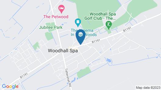 The Inn at Woodhall Spa Map