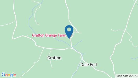 Gratton Grange Farm B&B Map
