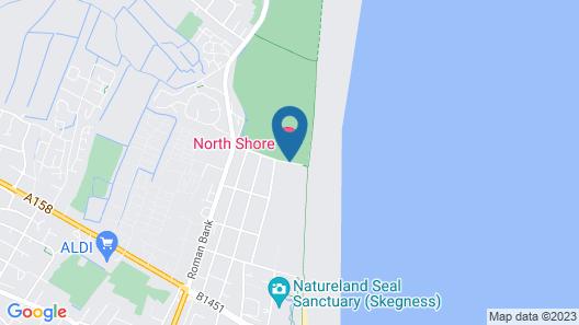 North Shore Hotel & Golf Club Map