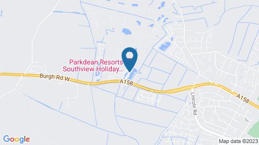 Caravan Hire at Southview Leisure Park Map