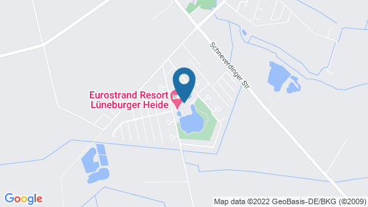 Eurostrand Resort Lüneburger Heide Map