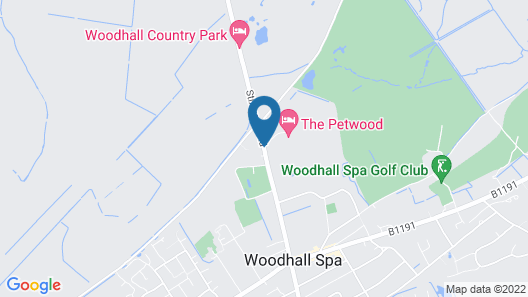 Petwood Hotel Map