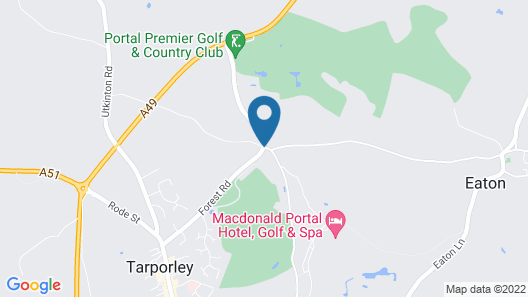 Macdonald Portal Hotel, Golf and Spa Map