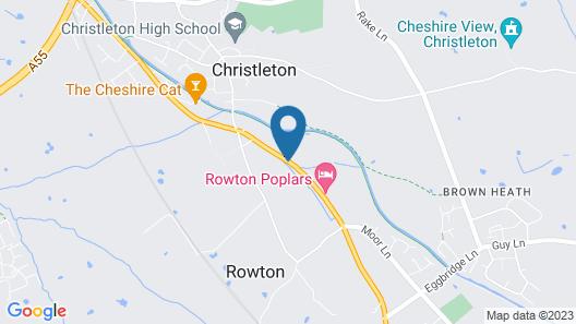 Rowton Poplars Hotel Map