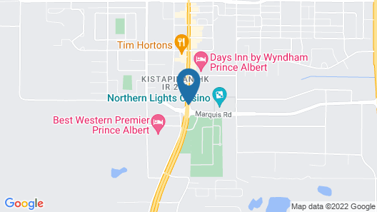Prince Albert Inn Map