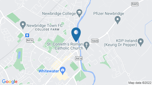 Remarkable House in Newbridge Map