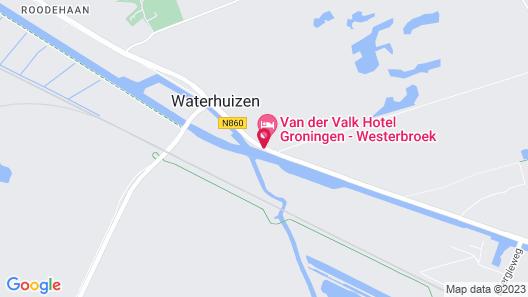 Van der Valk Hotel Groningen Westerbroek Map