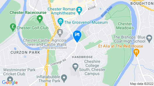 Handbridge House Map