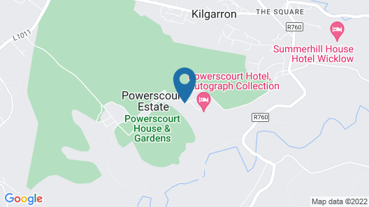 Powerscourt Hotel, Autograph Collection Map