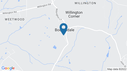Willington Hall Hotel Map