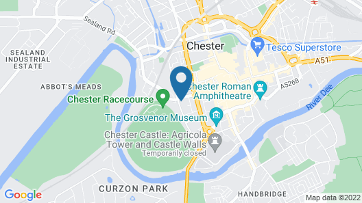 Roomzzz Chester City Map