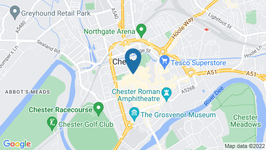 The Coach House Inn Map