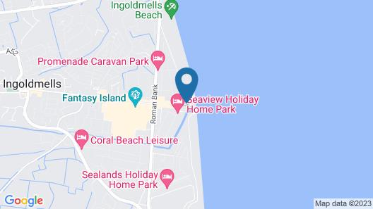 Skegness Ingoldmells Caravan Holidays Map