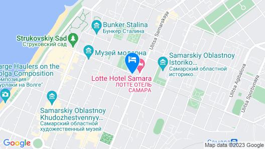 LOTTE Hotel Samara Map