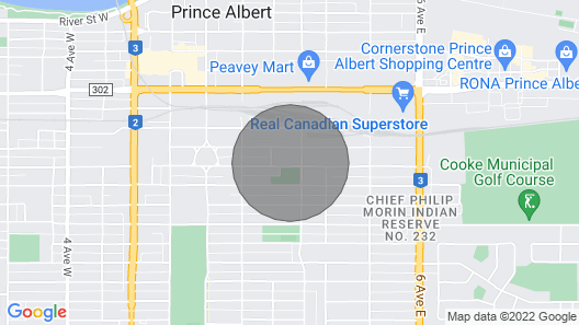 A piece of Prince Albert history Map