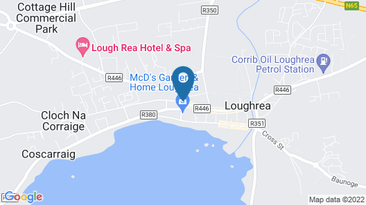 Lough Rea Hotel & Spa Map