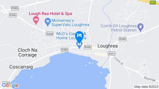 Lough Rea Hotel & Spa Map