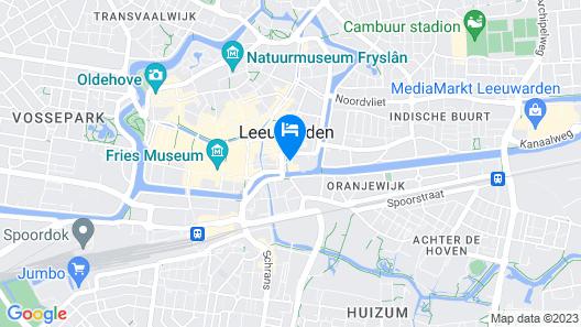Alibi Hostel Leeuwarden Map