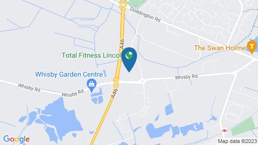 Windmill Farm by Greene King Inns Map