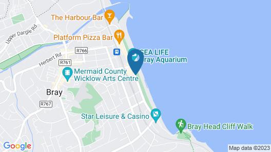 The Martello Hotel Map