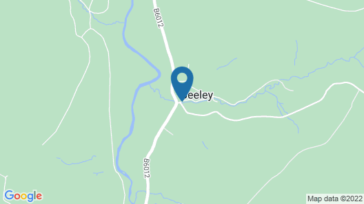 The Devonshire Arms at Beeley Map