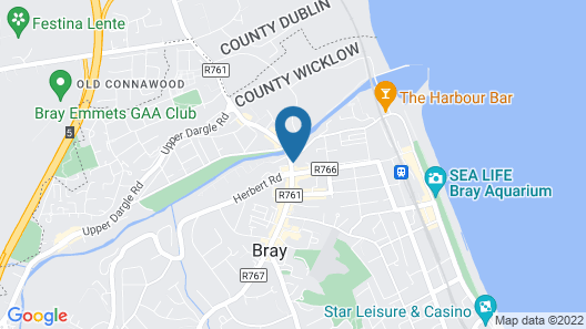 The Royal Hotel and Leisure Centre Map