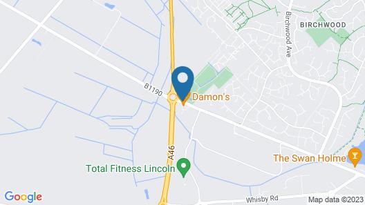 Damon's Hotel Map